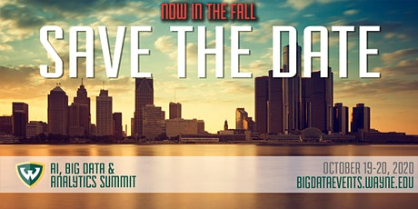 7th Annual AI, Big Data & Analytics Summit @ Wayne State University tickets