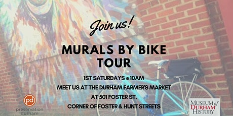 Durham's Murals by Bike Tour tickets
