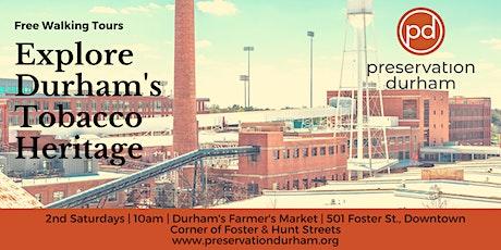 Durham's Tobacco Heritage Walking Tour tickets