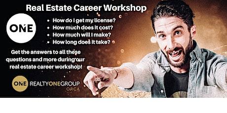 Real Estate Career Workshop tickets