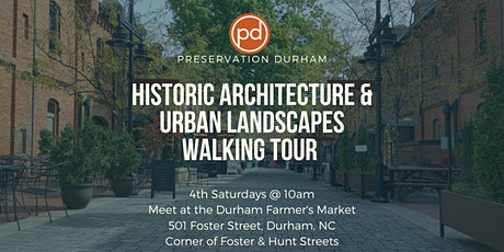 Durham's Architecture & Urban Landscape Walking Tour tickets