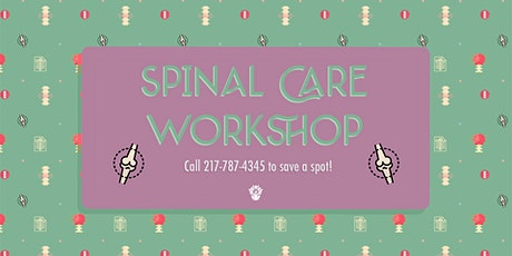 Spinal Care Workshop tickets
