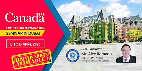 Immigration Consultations with RCIC in Dubai tickets