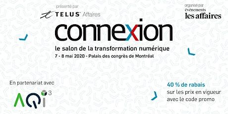 REPOUSSÉ - Salon Connexion - Événements Les Affaires billets