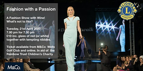 Fashion with Passion POSTPONED UNTIL AUTUMN tickets