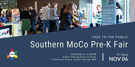 2020 Southern Montgomery County, MD, Preschool Fair tickets