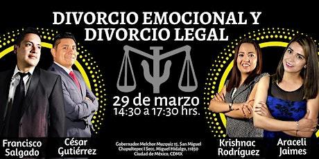 Divorcio Emocional Y Divorcio Legal boletos