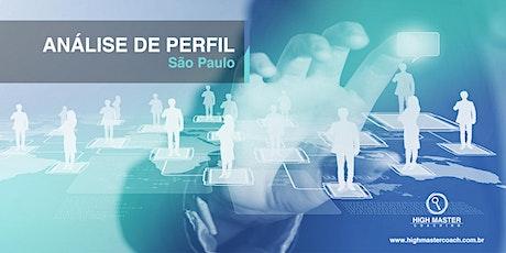 Análise de Perfil - São Paulo ingressos