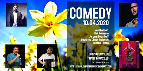 Haarlem Easter Comedy - CANCELLED (your tickets remain valid) tickets