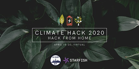 Climate Hack 2020: Hack From Home- postponed new date TBA tickets
