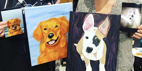 Paint your pet Portrait Class at Mazama Brewing tickets