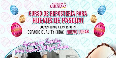 PAUSADO: Curso de Repostería para Huevos de Pascua! entradas