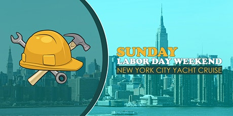 Labor Day Weekend NYC Boat Party Yacht Cruise: Sunday Night tickets