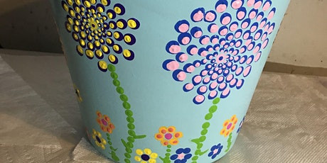 Arty Farty Easter Holidays: Pottery Paint a Plant Pot tickets
