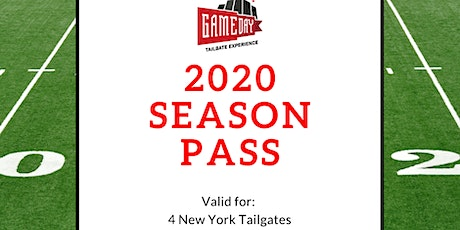 Gameday Tailgate Experience: 2020 Season Tailgate Pass (New Jersey) tickets