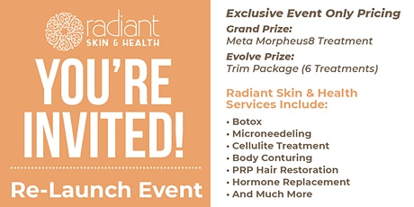 Radiant Skin & Health Re-Launch Event tickets
