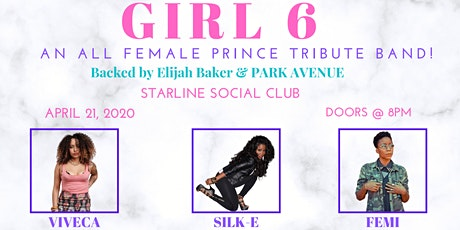 GIRL6 Presents: A Love Letter 2 Prince tickets