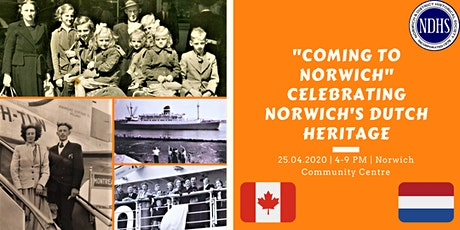 """Coming to Norwich"": Celebrating Norwich's Dutch Heritage tickets"