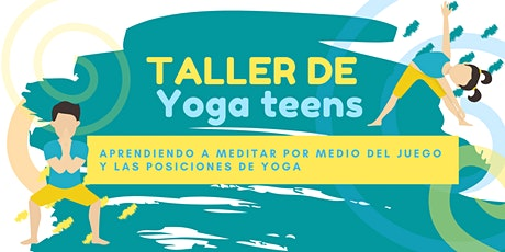 TALLER YOGA TEENS boletos