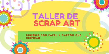 TALLER DE SCRAP ART boletos
