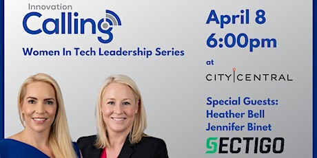 April Women in Tech Leadership Live Podcast Recording tickets
