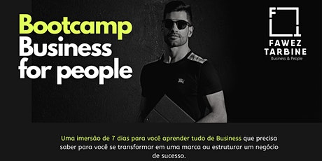 BootCamp Business For People por Fawez Tarbine ingressos