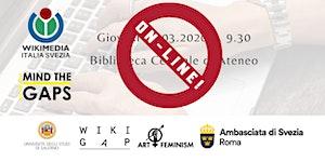WikiGap 2020 Salerno