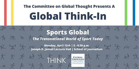 Sports Global: The Transnational World of Sport Today ingressos