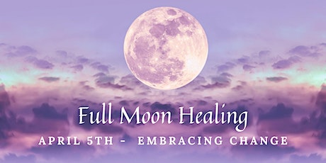 Full Moon Virtual Sound Healing - April 5th tickets
