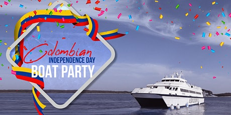Colombian Independence Day Celebration NYC Boat Party Yacht Cruise: Saturday Night tickets