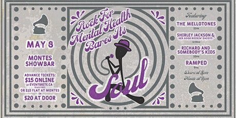 Rock For Mental Health Bares its Soul tickets