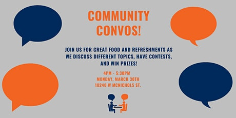 Community Convos Info Session tickets