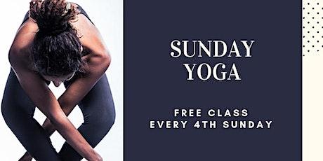 Sunday Yoga {FREE} tickets