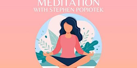 New Moon in Taurus Guided Meditation with Stephen Popiotek tickets