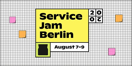 Global Service Jam - Berlin, August 2020 tickets