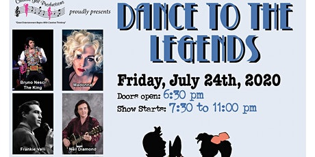 Dance to the Legends July 2020 tickets