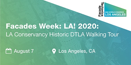 Historic Downtown LA Guided Architectural Walking Tour tickets