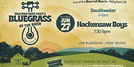 Bold Rock Presents Bluegrass at the Barn - Hackensaw Boys tickets