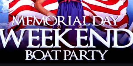 Memorial Day Weekend Boat Party Seattle 2020 tickets