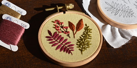 Botanical Embroidery: Essential Stitches tickets
