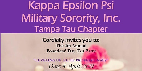 Tampa Tau 4th Annual Founder's Day Tea tickets