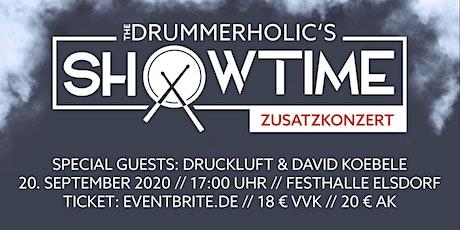 ZUSATZSHOW DRUMMERHOLIC'S SHOWTIME 2020 Tickets