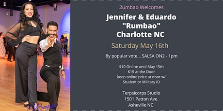 "2umbao Presents Salsa on2 with Jennifer  Geyer & Eduardo Diaz from ""Rumbao"" tickets"