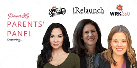 PowerToFly Parents' Panel: Launching Your Career Comeback tickets