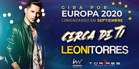 Leoni Torres 2020 - Santiago de Compostela entradas