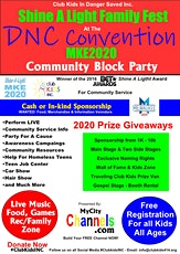 Club Kids Shine A Light Family Fest @ The DNC Convention MKE2020 tickets
