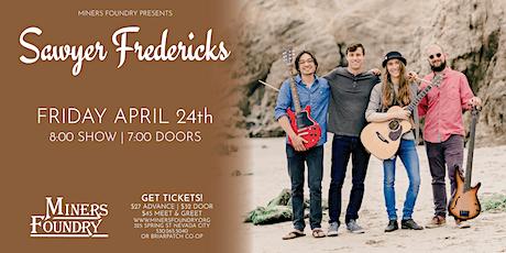Sawyer Fredericks   POSTPONED tickets