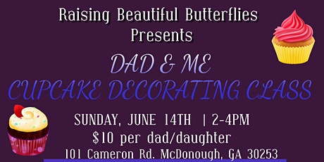 Daddy-Daughter Cupcake Decorating Class tickets