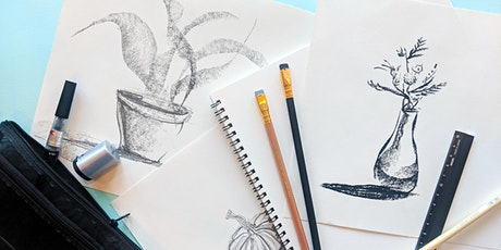 Intro to Drawing : Still Life + Mark-making tickets