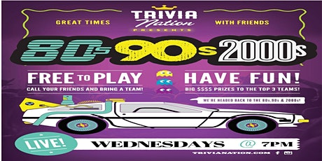Trivia Nation Free Live Trivia at Vpizza Flemming Island - Wed at 7pm tickets
